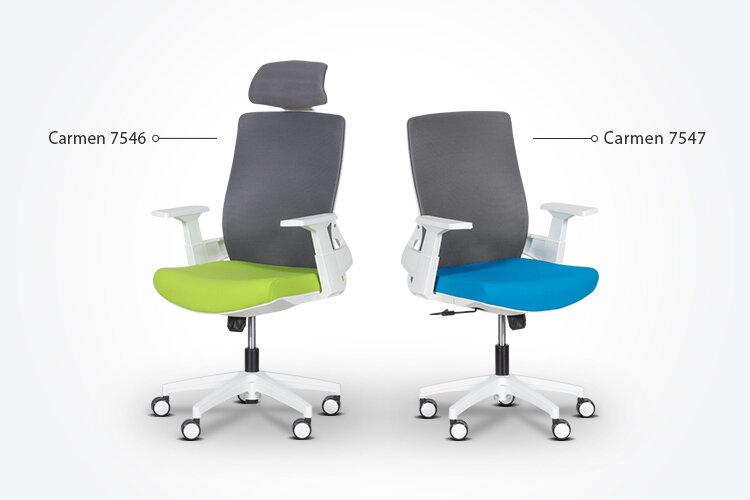 Комбинирайте работния офис стол Carmen 7547 с президентския офис стол Carmen 7546