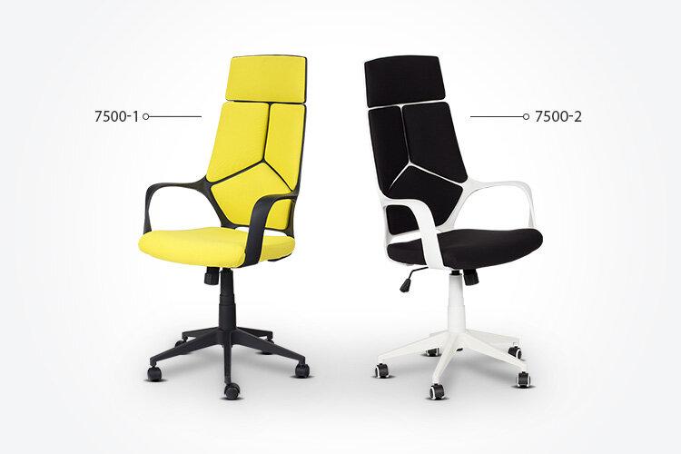 Разлики между президентския офис стол Carmen 7500-1 и президентския офис стол Carmen 7500-2