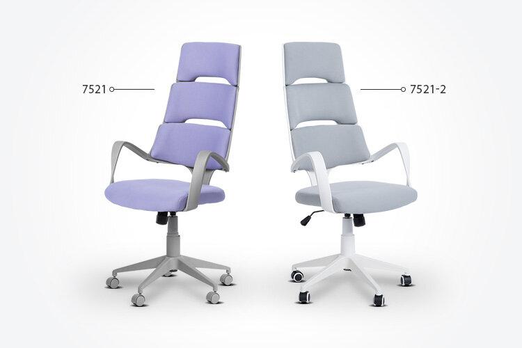 Разлики между президентския офис стол Carmen 7521 и президентския офис стол Carmen 7521-2
