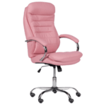 Президентски офис стол Carmen 6113 - розов
