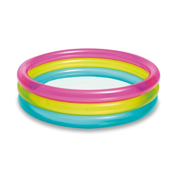 Бебешки надуваем басейн Intex Rainbow (Дъга), Ø86 x 25 см
