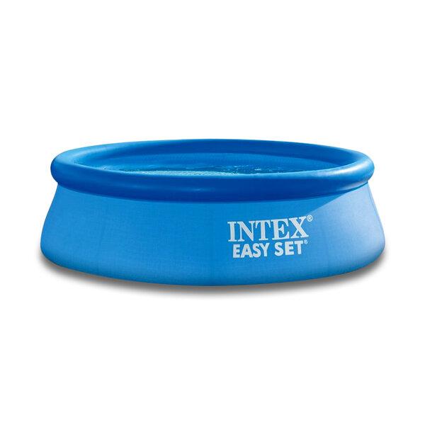 Надуваем басейн (с надуваем ринг) Intex Easy Set, Ø244 x 76 см