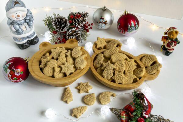 Коледни бисквити за Дядо Коледа