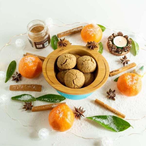 Бебешки напукани бисквити без захар и какао