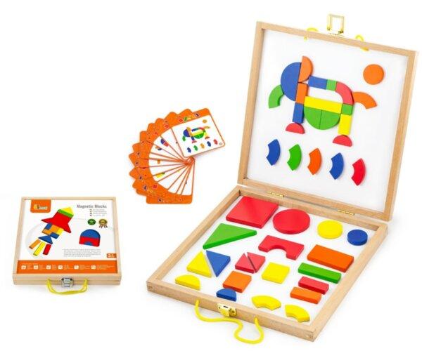 Магнитна мозайка, Viga toys