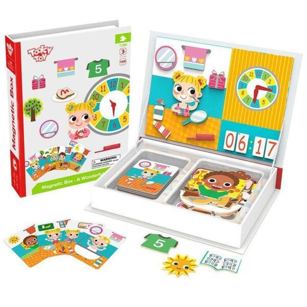 Магнитна образователна кутия игра - Страхотен ден, Tooky Toy