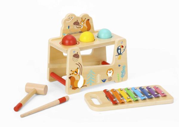 Ксилофон с топки и чукче, Животните, Tooky Toy