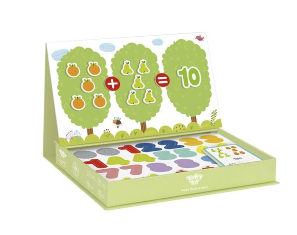 Магнитна образователна кутия игра - Математика, Tooky Toy