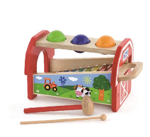 Ксилофон с топки и чукче, Viga toys