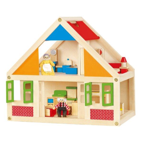 Къща за кукли с 24 елемента
