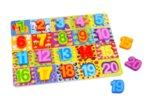 Пъзел с цифри, Tooky toy