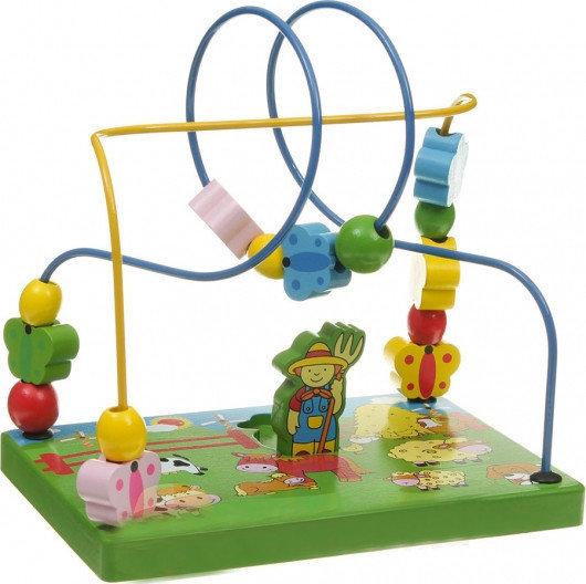 Спирала с пеперуди и цветя, Viga toys