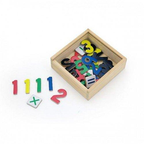 Магнитни цифри - 37 броя, Viga toys