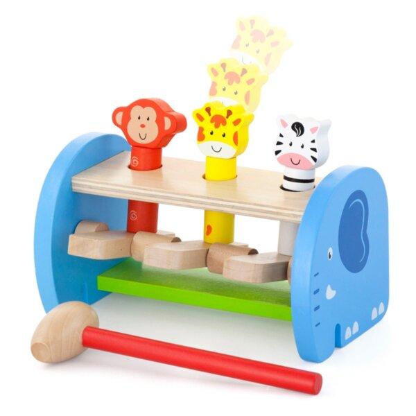 Дървена играчка – Хоп и скок