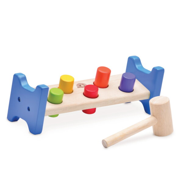 Дървена играчка с чукче WonderWorld
