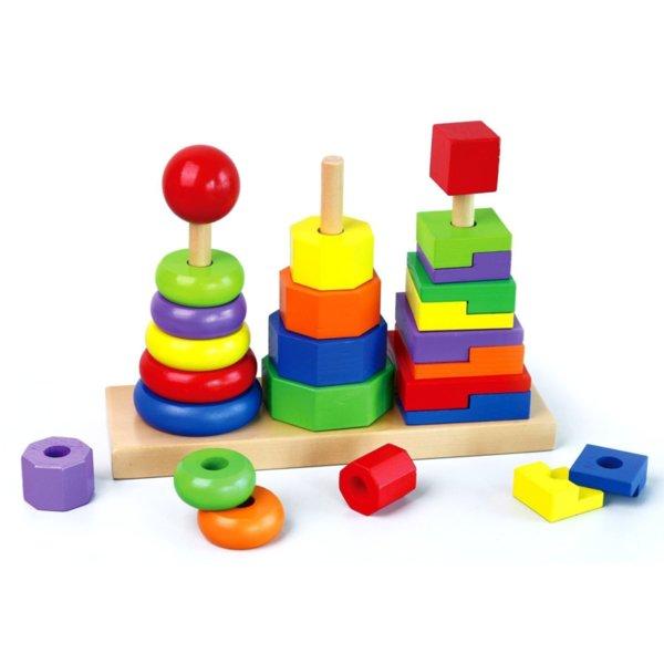 Геометрична пирамида, Viga toys