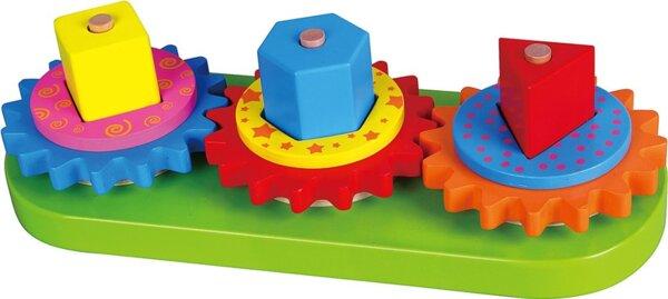 Геометрични фигури и зъбни колела, Viga toys
