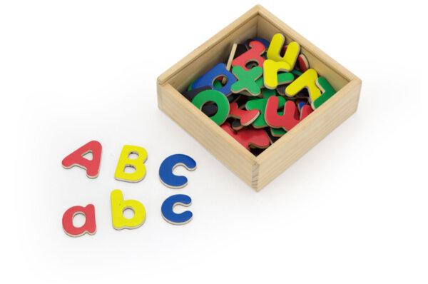 Дървени магнитни букви на латиница, Viga