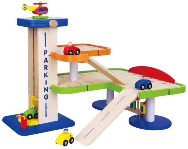 Голям гараж, Viga toys