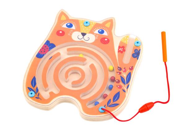 Магнитен лабиринт - коте, Tooky toy