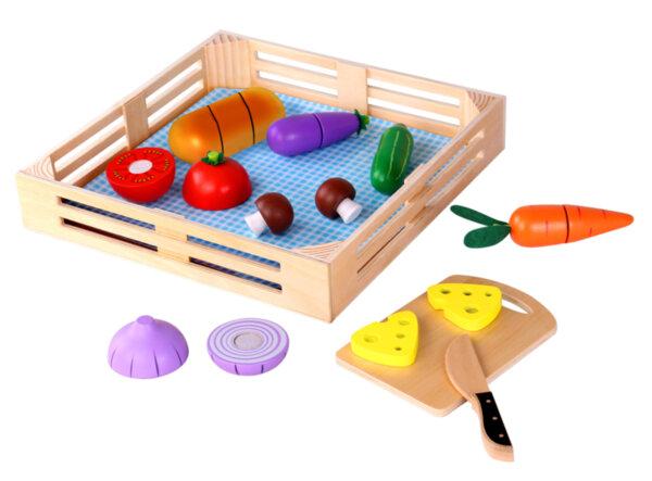 Дървени зеленчуци за рязане, Tooky toy