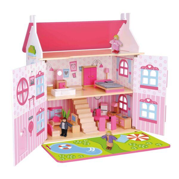 Дървена къща за кукли, Tooky toy