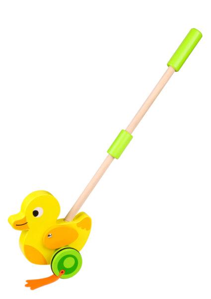 Дървено пате за бутане, Tooky toy