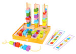 Игра за нанизване лабиринт кутия за игра с мъниста