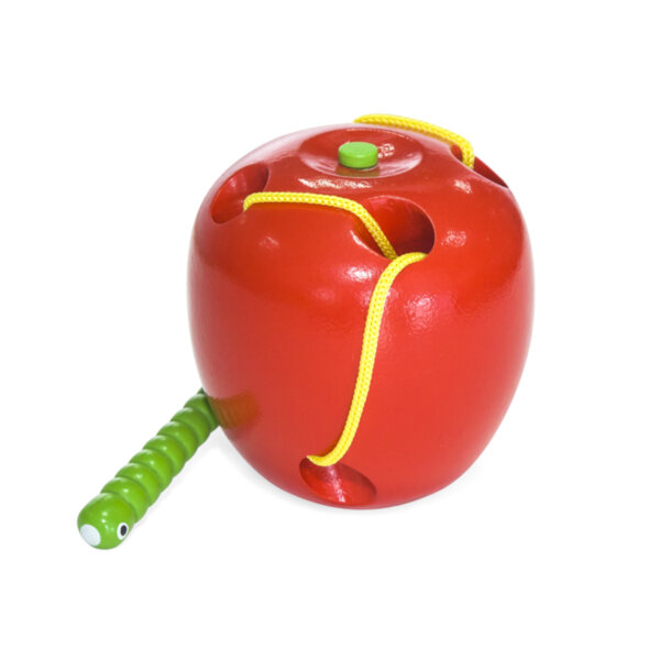 Дървена ябълка за нанизване, Viga toys