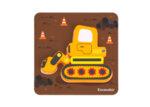 6 мини пъзела транспортните средства,  Tooky toy
