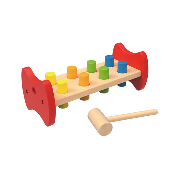 Дървена игра с чукче, Tooky toy