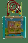 Дидактически куб за активности 5 в 1 , Tooky toy