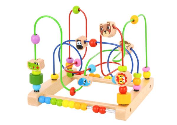 Дървен лабиринт с дивите животни, Tooky toy