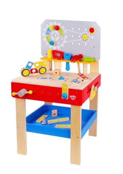 Голяма дървена работна маса, Tooky toy