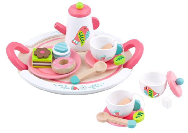 Дървен комплект от чай, Tooky toy