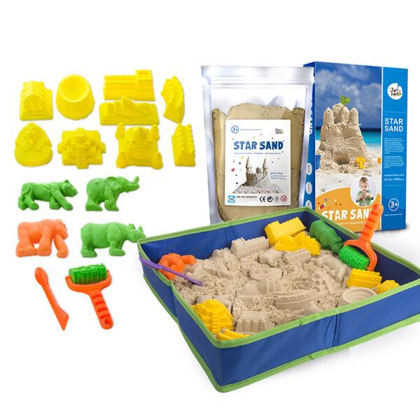 Комплект за игра кинетичен пясък, Jarmelo