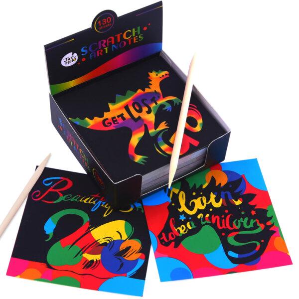 Цветни стреч карти, 130 броя, Jarmelo