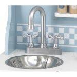Синя кухня с аксесоари Polar B от Viga toys