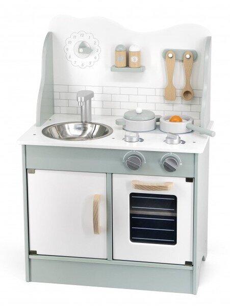 Зелена кухня с аксесоари Polar B от Viga toys