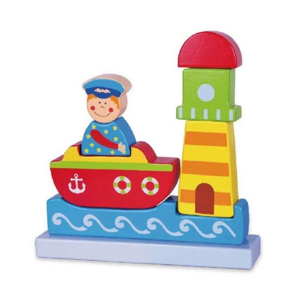 Магнитен вертикален пъзел Море, Viga toys