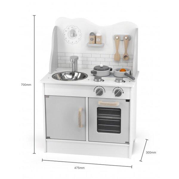 Сива кухня с аксесоари Polar B от Viga toys