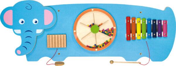 Дървена играчка за стена – Слон от Viga toys
