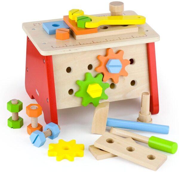 Дървена маса с инструменти, Viga toys