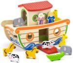 Дървен сортер – Ноевият ковчег, Viga toys