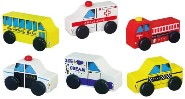 Малки градски превозни средства, Viga toys