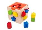 Дървен сортиращ куб, Tooky toy