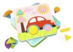 4 в 1 пъзел форми и цветове, Tooky toy