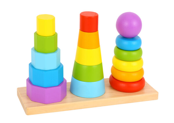 Тройна геометрична пирамида,  Tooky Toy