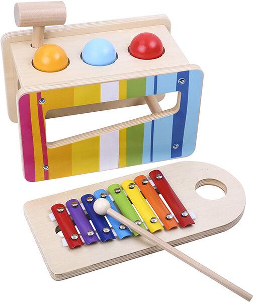 Ксилофон с топки и чукче, Tooky toy
