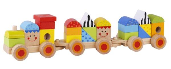 Дървен дидактически влак, Tooky toy
